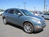 2010 Silver Green Metallic Buick Enclave CXL AWD #65229020