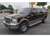2004 Dark Toreador Red Metallic Ford F250 Super Duty King Ranch Crew Cab 4x4 #65228999