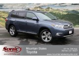 2012 Shoreline Blue Pearl Toyota Highlander Limited 4WD #65228509