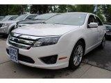 2010 White Platinum Tri-coat Metallic Ford Fusion SEL #65228967