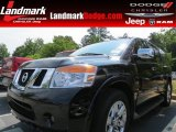 2012 Galaxy Black Nissan Armada Platinum #65306843