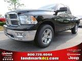 2012 Black Dodge Ram 1500 Big Horn Quad Cab #65306833