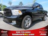 2012 Black Dodge Ram 1500 Sport Crew Cab #65306831