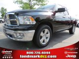2012 Black Dodge Ram 1500 Big Horn Quad Cab #65306829