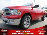 2012 Flame Red Dodge Ram 1500 Big Horn Crew Cab #65306828