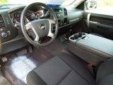 2010 Chevrolet Silverado 1500 LT Extended Cab 4x4 Ebony Interior