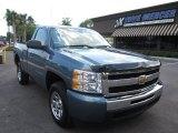 2011 Blue Granite Metallic Chevrolet Silverado 1500 LS Regular Cab #65307439