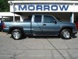 2006 Blue Granite Metallic Chevrolet Silverado 1500 Z71 Extended Cab 4x4 #65306799