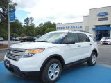 2013 Oxford White Ford Explorer FWD #65306777