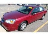 2007 Sport Red Metallic Chevrolet Malibu LS Sedan #65307111