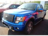 2012 Blue Flame Metallic Ford F150 FX4 SuperCab 4x4 #65307101