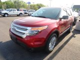 2013 Ruby Red Metallic Ford Explorer XLT 4WD #65307099