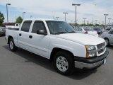 2005 Summit White Chevrolet Silverado 1500 LS Crew Cab #65307078