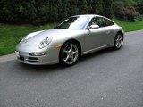 2007 Arctic Silver Metallic Porsche 911 Carrera Coupe #65306726