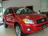 2011 Barcelona Red Metallic Toyota RAV4 V6 Sport 4WD #65306936