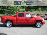 2012 Victory Red Chevrolet Silverado 1500 LT Crew Cab 4x4 #65306882