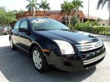 2008 Dark Blue Ink Metallic Ford Fusion S #65361576