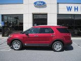 2013 Ruby Red Metallic Ford Explorer XLT 4WD #65361847