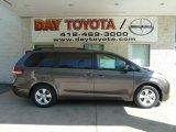 2012 Predawn Gray Mica Toyota Sienna LE #65361488