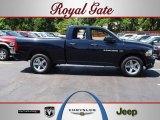 2012 True Blue Pearl Dodge Ram 1500 Express Quad Cab 4x4 #65361430