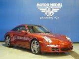 2008 Ruby Red Metallic Porsche 911 Targa 4S #65361369