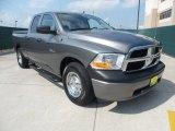 2010 Mineral Gray Metallic Dodge Ram 1500 ST Quad Cab #65361710