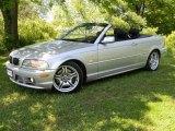 2003 Titanium Silver Metallic BMW 3 Series 330i Convertible #65412195