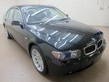 2003 Black Sapphire Metallic BMW 7 Series 745i Sedan #65412010