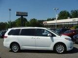 2011 Super White Toyota Sienna XLE AWD #65412128