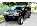2003 Black Hummer H2 SUV #65412105