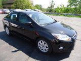 2012 Tuxedo Black Metallic Ford Focus SE Sedan #65412066