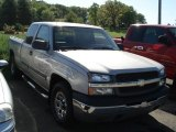 2004 Silver Birch Metallic Chevrolet Silverado 1500 LS Regular Cab 4x4 #65440574
