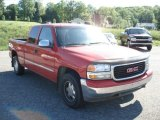 2001 Fire Red GMC Sierra 1500 SLE Extended Cab 4x4 #65440571