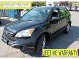 2009 Crystal Black Pearl Honda CR-V LX 4WD #65440561