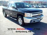2012 Black Chevrolet Silverado 1500 LT Extended Cab 4x4 #65440605
