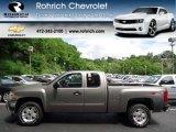 2012 Graystone Metallic Chevrolet Silverado 1500 LT Extended Cab 4x4 #65448851
