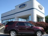 2011 Bordeaux Reserve Red Metallic Ford Explorer XLT 4WD #65448471