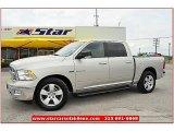 2010 Light Graystone Pearl Dodge Ram 1500 SLT Crew Cab #65448655