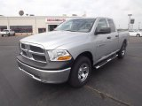 2012 Bright Silver Metallic Dodge Ram 1500 ST Quad Cab 4x4 #65448642