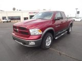 2012 Deep Cherry Red Crystal Pearl Dodge Ram 1500 SLT Quad Cab 4x4 #65448640