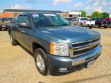 2009 Imperial Blue Metallic Chevrolet Silverado 1500 LT Extended Cab #65448763
