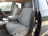 2010 Toyota Tundra Texas Edition Double Cab Graphite Gray Interior