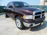 2005 Deep Molten Red Pearl Dodge Ram 1500 SLT Quad Cab #65448615