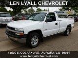 2000 Summit White Chevrolet Silverado 1500 Regular Cab 4x4 #65481004