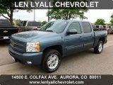 2009 Blue Granite Metallic Chevrolet Silverado 1500 LTZ Crew Cab 4x4 #65480995