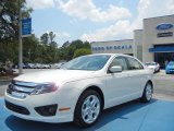 2011 White Platinum Tri-Coat Ford Fusion SE V6 #65480983