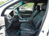 2013 Ford Explorer Limited Charcoal Black Interior