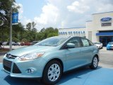 2012 Frosted Glass Metallic Ford Focus SE Sedan #65480972