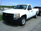 2012 Summit White Chevrolet Silverado 1500 Work Truck Regular Cab #65481449