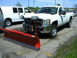 2012 Chevrolet Silverado 2500HD Work Truck Regular Cab 4x4 Plow Truck Data, Info and Specs